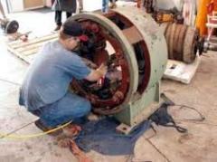 Reparaciones motores eléctricos