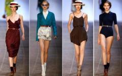 Orientación de sobre tendencias de la moda en cada
