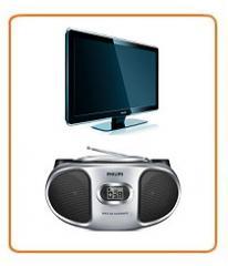 Servicios de reparación de técnica de video y de audio