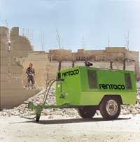 Gasoline-powered compressors hire and rental