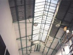 Reparacion de techos y paredes de Canchas