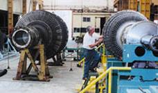 Reparaciones de turbinas a gas y vapor