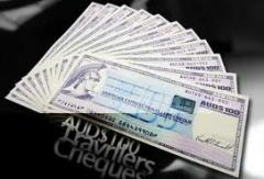 Compra de Cheques de Viajeros