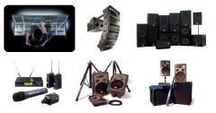 Alquiler de Sonido para Shows y Grandes Eventos, Conferencias o Congresos