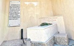 Mausoleo del ex Presidente Alfonsín