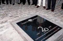 Placa en Granito Negro Brasil