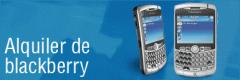 Alquiler de Blackberry