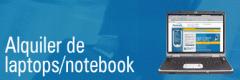 Alquiler de Notebook