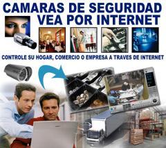 CAMARAS DE VIGILANCIA SEGURIDAD IP INSTALACION