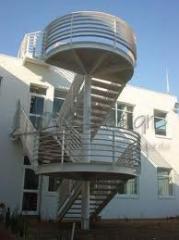 Arquitectura del Fuego - Escaleras y Ascensores