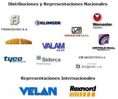 Distribuciones y Representaciones Nacionales e Internacionales