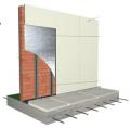 Aplicacion Membrana Aislante en Muro